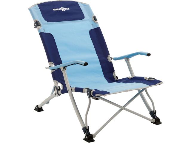 Brunner Bula XL Chaise, blue/lightblue